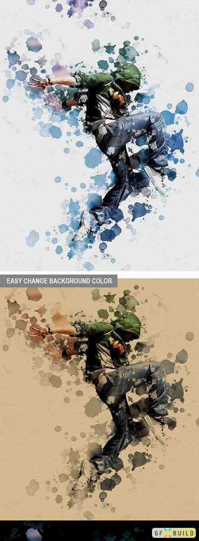 Graphicriver - Creative Arts Photoshop Action Bundle v2