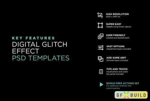 Awesome Digital Glitch Effects » GFXBuild