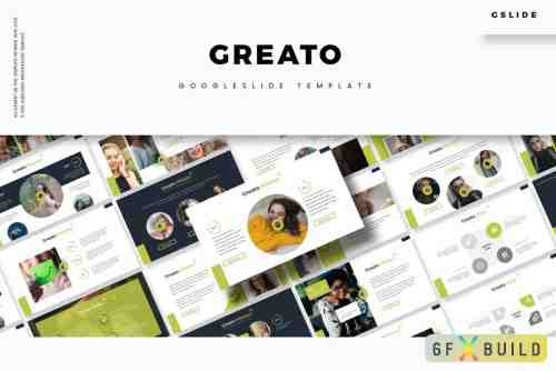 Creativemarket - Greato - Google Slides Template GYN26ST