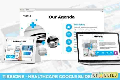 Tibbicine - Healthcare Keynote Template, Google Slide Template