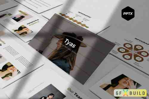 CM - Tyas - Keynote Template, Powerpoint Template, Google Slide Template