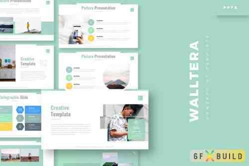 CM - Walltera - Keynote Template, Powerpoint Template, Google Slide Template