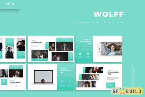 CM - Wolff - Keynote Template, Powerpoint Template, Google Slide Template