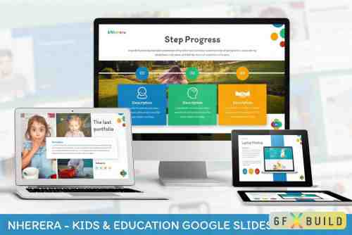 Nherera - Kids & Education Keynote Template, Google Slide Template
