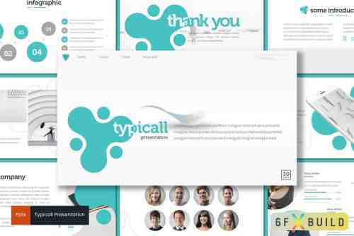 Typicall - Kids & Education Keynote Template, Powerpoint Template, Google Slide Template
