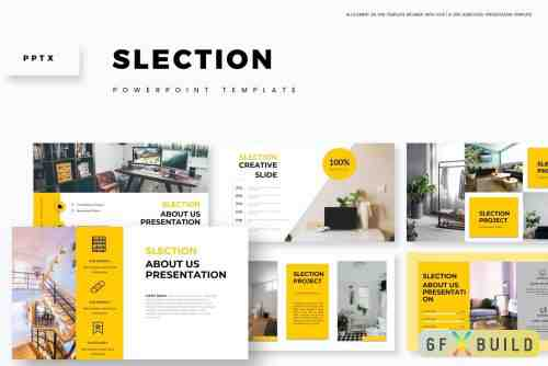 CM - Slection - Education Keynote Template, Powerpoint Template, Google Slide Template