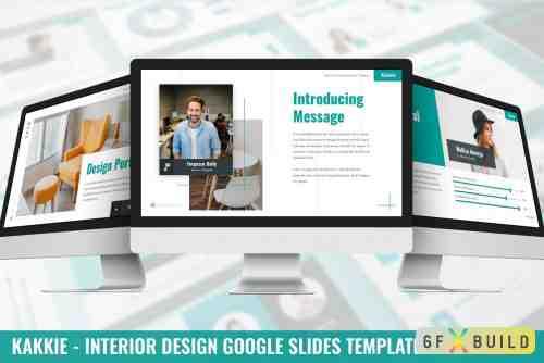 Kakkie - Interior Design Google Slides Template