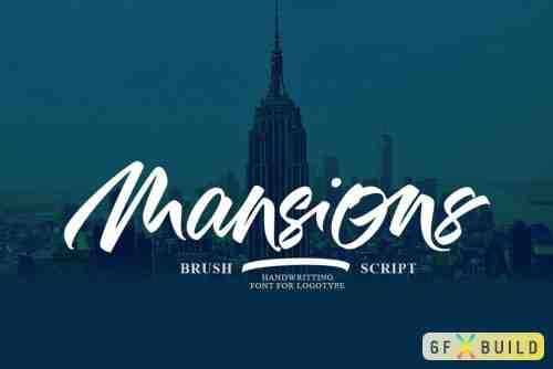 Videohive Mansions Brush Script 3273661
