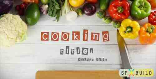 Videohive Cooking Titles 18507757