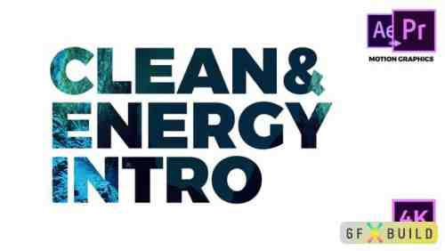 Videohive Clean & Energy Intro 22284166