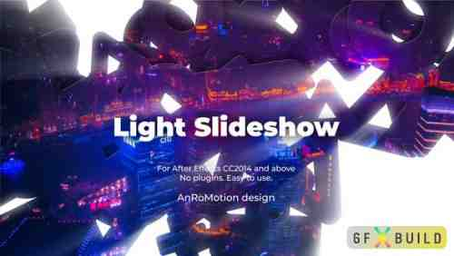 Videohive Light Slideshow 24288132