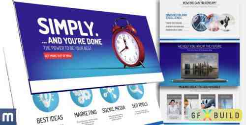 Videohive Positrino - Corporate Presentation 10981288