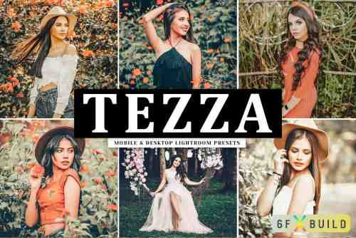 CM - Tezza Lightroom Presets Pack 4084995