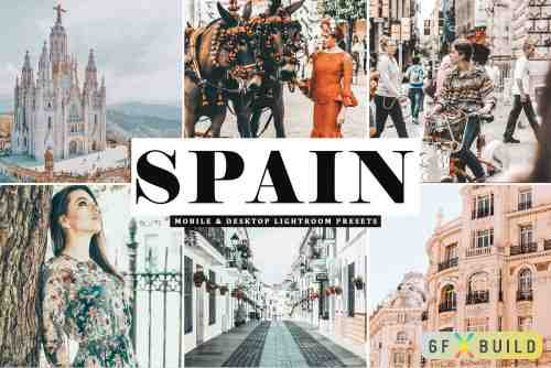 CM - Spain Pro Lightroom Presets 4077143