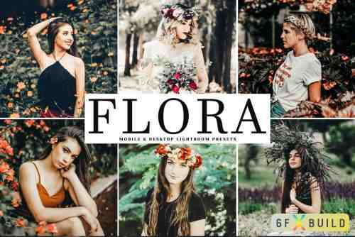 CM - Flora Lightroom Presets Pack 4048685