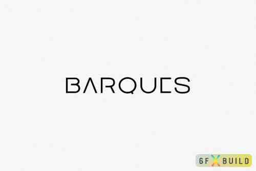CM - BARQUES - Display / Logo Typeface 4082630