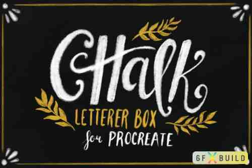 CM - Chalk Letterer Box for Procreate 1026010