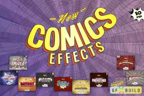 Graphicriver Comics Text Effects 23918244