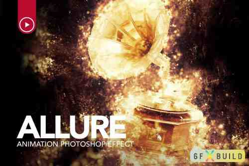 Graphicriver Gif Animated Allure Photoshop Action 22272063