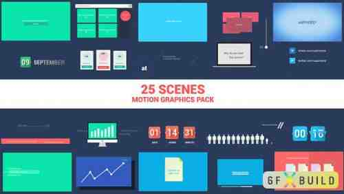 Videohive Corporate Motion Elements Pack 5268415
