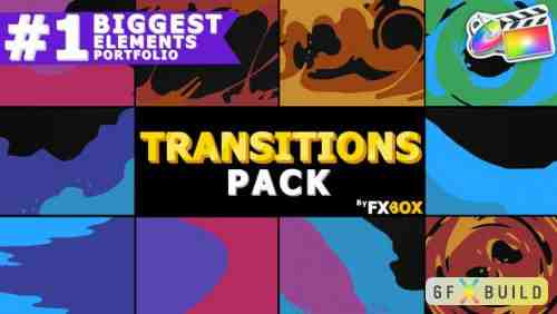 Videohive Liquid Transitions | FCPX 24793930