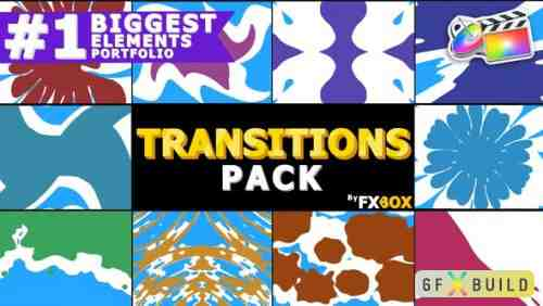 Videohive Liquid Transitions Pack | FCPX 24791184