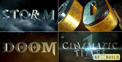 Videohive Cinematic Title 1 18272595