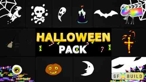 Videohive Halloween Elements FCPX 24944513