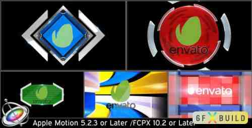 Videohive Broadcast Logo Transition Pack V3 - Apple Motion 15693654