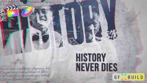 Videohive Shattered History 24961293