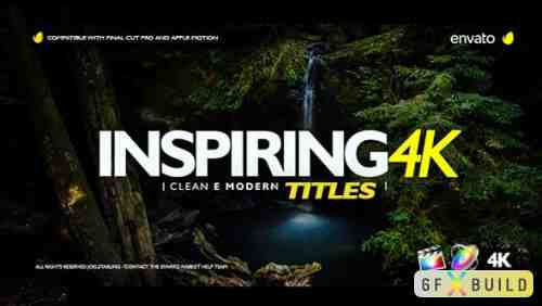 Videohive Inspiring Titles For Final Cut Pro X 20505350