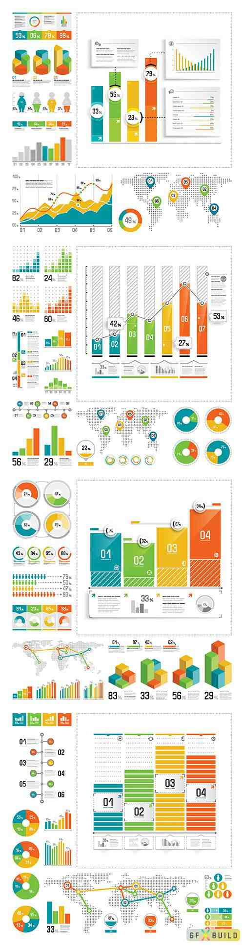 Infographic vector elements