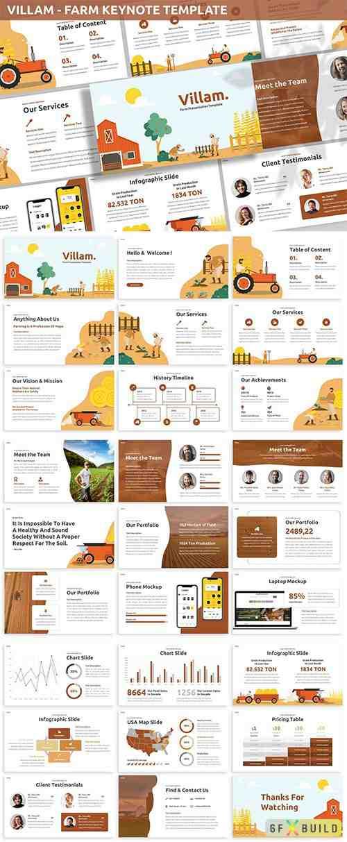 Villam - Farm Keynote Template