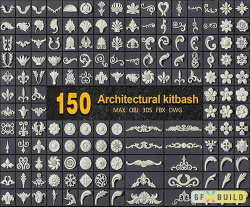 150 ARCHITECTURAL KITBASH VOL 01