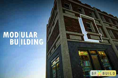 Modular Building |Unity3d|