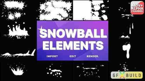 Snowball Elements | Motion Graphics 29648329