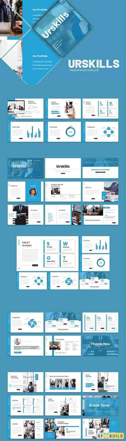 Urskills - Business Presentation Keynote Template