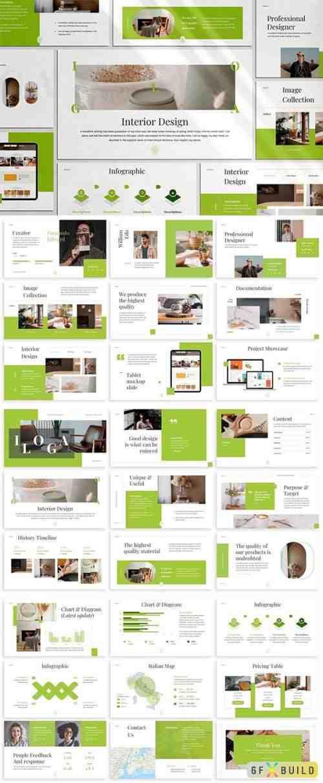 Iloga - Interior Design Keynote Template