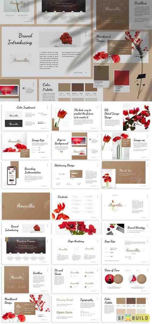 Amarillis - Brandbook Keynote Template