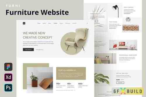 Furni - Furniture Website Homepage