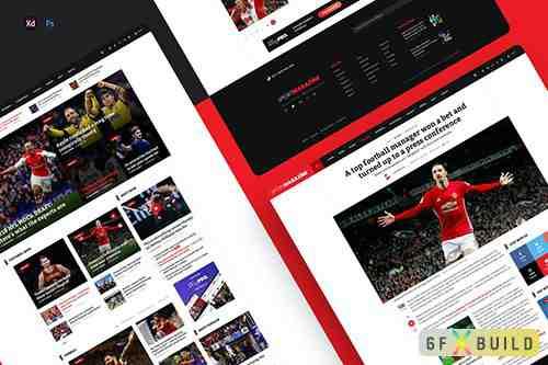 SportMagazine - Magazine & newspaper template