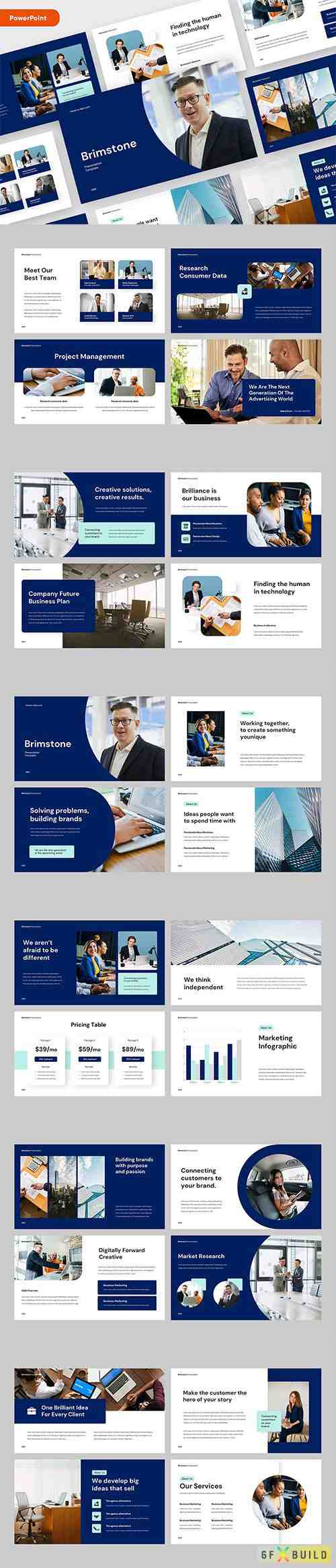 Business Pitch Deck PowerPoint, Keynote and Google Slides Template