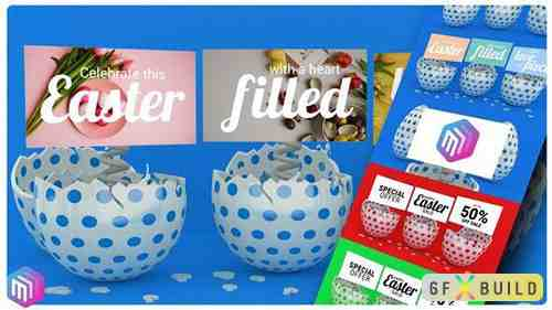 VideoHive - Happy Easter Promo / Greeting Card 31150029