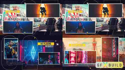 VideoHive - Dynamic Glitch Slideshow 31196749