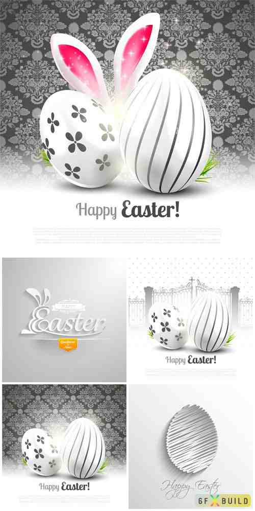 Luxurious easter vector
