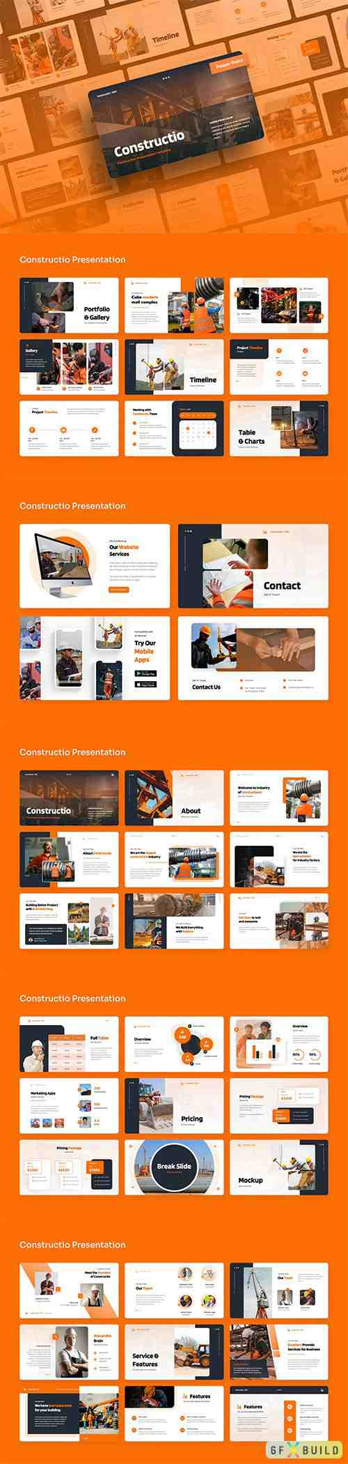 Constructio - Construction PowerPoint Presentation