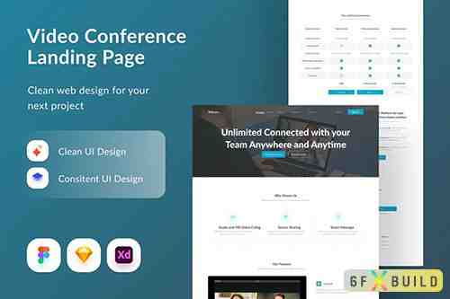 Video Conference Landing Page
