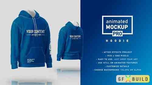 Hoodie Mockup Template - Animated Mockup PRO 31573152