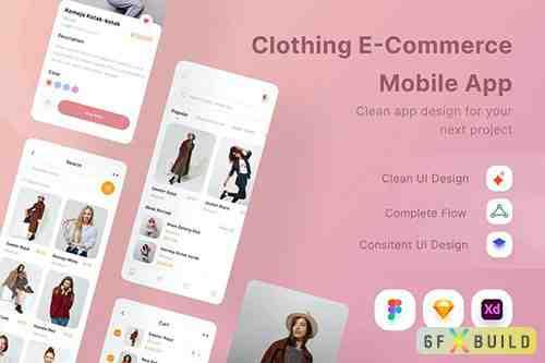Clothing E-Commerce Mobile App