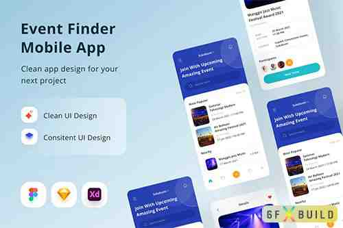 Event Finder Mobile App